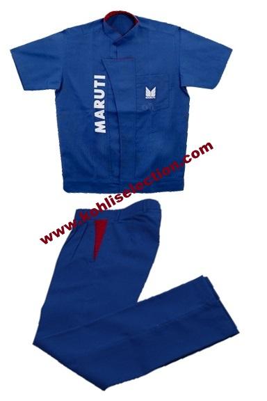 maruti suzuki technician uniform shirt pant